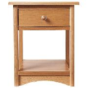 Broadway Bedside Cabinet, Natural