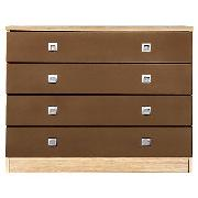 John Lewis Riva 4 Drawer Wide Chest
