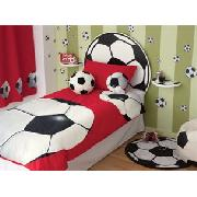 Photographic Football Print Bedlinen Set