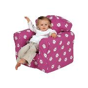Pink Flower Armchair