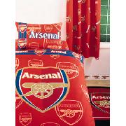 Arsenal Fc Curtains 'Crest' Design