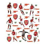 Arsenal Fc Legends Stikarounds Wall Stickers 48 Pieces - Great Low Price