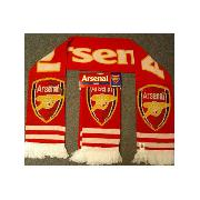 Arsenal Fc Scarf 'Crest' Design