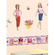 Barbie Wall Stickers Stikarounds Country Flair Design 61 Pieces
