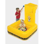 Bob the Builder Inflatable Scoop Ball Pool with Balls