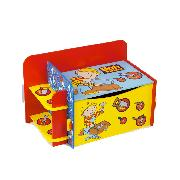 Bob the Builder Project Build It Wooden Toy Box - Storage Solution