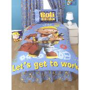 Bob the Builder Valance Sheet Rulers Design