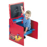 Disney Cars Wooden Easel Desk and Stool
