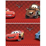 "Disney Pixar Cars Border 4"" Red Self Adhesive"