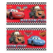 "Disney Pixar Cars Border 8"" Red Self Adhesive"