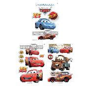 Disney Pixar Cars Wall Stickers 36 Piece Quick Stiks
