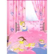 Disney Princess Curtains 'Lets Be Princesses' Design