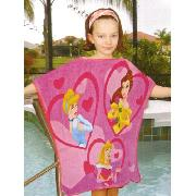 Disney Princess Towcho Poncho Towel