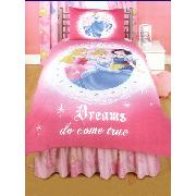 Disney Princess Valance Sheet 'Dreams Do Come True' Design