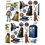 Doctor Who Wall Stickers 44 Piece Dr