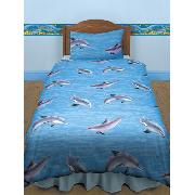 Dolphins Duvet Cover and Pillowcase Bedding
