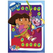 Dora the Explorer Poster 'Lets Go' Design Maxi FP1477