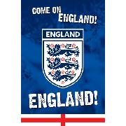 England Football 'Come On England' Maxi Poster PP30529
