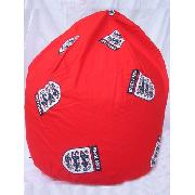 England Football Red Bean Bag (Uk Mainland Only)