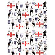England Football Stikarounds Wall Stickers 44 Pieces - Great Low Price