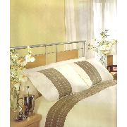 Faux Suede King Duvet Cover and 2 Pillowcases Bedding