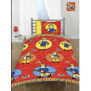 Fireman Sam 'Our Hero' Duvet Cover and Pillowcase Bedding