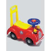 Fireman Sam Ride On Sit On Walker Jupiter Fire Engine