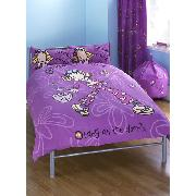 Groovy Chick Butterfly Double Duvet Cover and Pillowcase