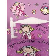 Groovy Chick Butterfly Stikarounds Wall Stickers 36 Pieces