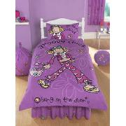 Groovy Chick Hearts Fitted Valance Sheet