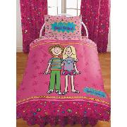 Jacqueline Wilson Best Friends Duvet Cover and Pillowcase Bedding