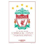Liverpool Fc 'Unrivalled History, Glorious Future' Maxi Poster SP0339