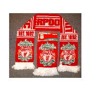 Liverpool Fc Crest Scarf