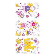 Magical Fairy 44 Piece Quick Sticks Wall Stickers