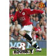 Manchester United Fc 'Rooney' Maxi Poster SP0351