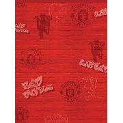 Manchester United Fc Red Devils Design Wallpaper