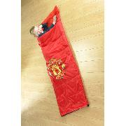Manchester United Fc Sleeping Bag Sleep Over Bedding