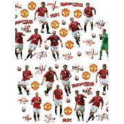 Manchester United Fc Stikarounds Wall Stickers 47 Pieces - Great Low Price