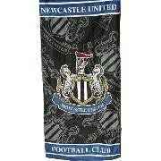 Newcastle United Fc Crest Printed Towel