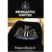 Newcastle United Fc Printed Fleece Blanket