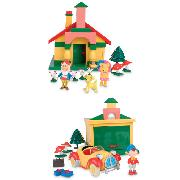 Noddy Toyland Playset 25 Piece Toys