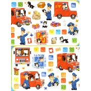 Postman Pat Stikarounds Wall Stickers 46 Pieces