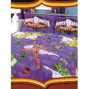 Power Rangers Double Duvet Cover and Pillowcase Morphin Magic