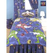 Power Rangers Duvet Cover and Pillowcase Morphin Magic - Great Low Price