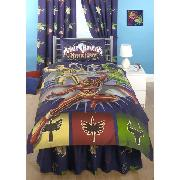 Power Rangers Duvet Cover and Pillowcase Mystic Force Design Bedding