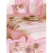Rachael Hale Duvet Cover and Pillowcase Lulu and Minnie Cat Design Single Bedding