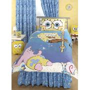 Spongebob Squarepants 'Dropping In' Duvet Cover and Pillowcase Bedding - Great Low Price