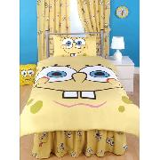Spongebob Squarepants 'Face' Fitted Valance Sheet