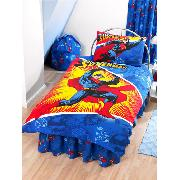 Superman Animation Duvet Cover and Pillowcase Bedding