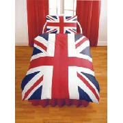 Union Jack Single Duvet Cover and Pillowcase